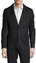 Antony Morato Marled Notch Lapel Sportcoat