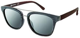 Southpole Men's 5000sp Oxwd Non-polarized Iridium Aviator Sunglasses