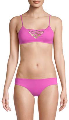 L-Space L'space Jaime Crisscross Bikini Top