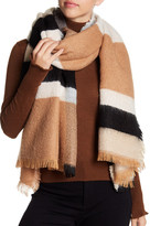 Collection XIIX Brushed Colorblock Wrap Scarf