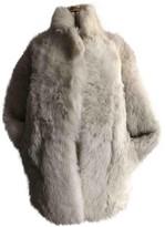 IRO Fall Winter 2018 Beige Shearling Coats
