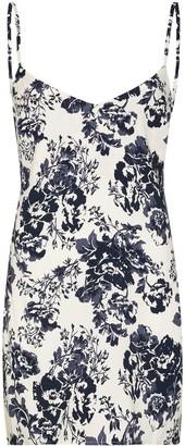 Reformation Dempsey floral-print slip dress