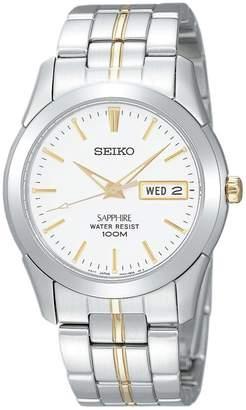 Seiko Men's Two Tone Stainless Steel Bracelet Watch