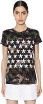 Valentino Camustars Print Cotton Jersey T-Shirt