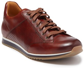 Magnanni Chaz Perforated Leather Driver Sneaker