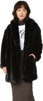 McQ by Alexander McQueen Alexander McQueen Faux Fur Coat