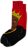Stance Notorious B.I.G. Socks, Red