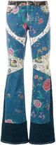 Roberto Cavalli Enchanted Garden jeans - women - Cotton/Spandex/Elastane - 38