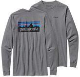 Patagonia Men's Long-Sleeved P-6 Logo Cotton T-Shirt