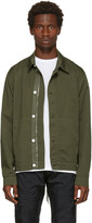 Helmut Lang Green Side Laced Jacket
