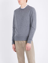 Michael Kors Marl-effect stretch-cotton sweatshirt