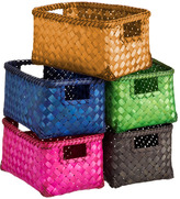 Container Store Small Weave Bin