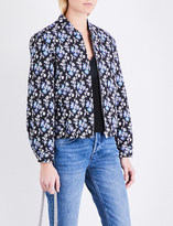 Claudie Pierlot Valmont cotton-blend jacket