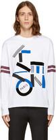 Kenzo White Skate T-Shirt
