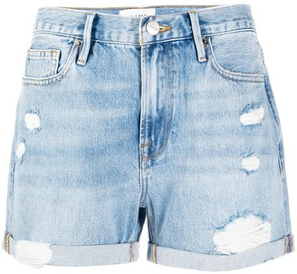 Frame Elsey denim shorts