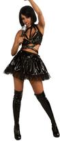 Rubie's Costume Co Rihanna Black Vinyl Costume