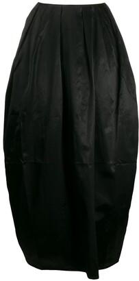 Marine Serre Pleated Puffball Skirt