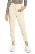 Topshop Corduroy Mom Jeans