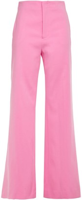 Joseph Kirk Cotton-blend Sateen Flared Pants