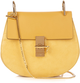 Chloé Drew small leather and suede cross-body bag