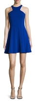 Jay Godfrey Havel Halter Flare Dress
