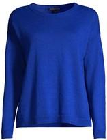 Eileen Fisher Crew-Neck Boxy Sweater