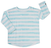 Bonds Kids Long Sleeve Stripe Rugby Tee