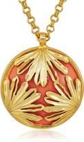 """Trina Turk Palm Leaf Pendant Necklace, 34"""""""