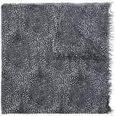 Faliero Sarti plaid print scarf