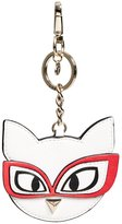 GUESS Clare Faux-Leather Meow Keychain
