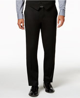 Alfani Traveler Black Solid Slim-Fit Pants, Created for Macy's