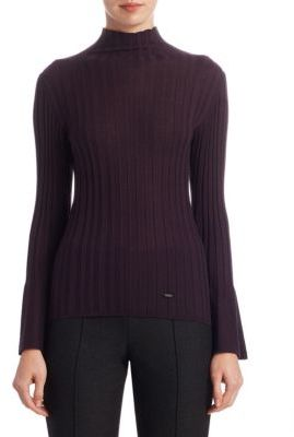 Akris Silk & Wool Pullover