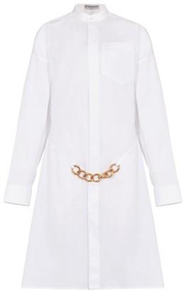 Givenchy Metallic chain shirt dress