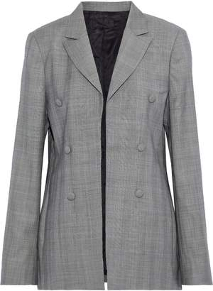 RtA Prince Of Wales Checked Wool Blazer