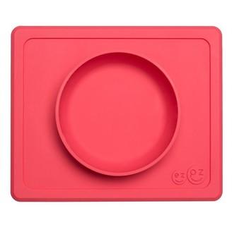 Ezpz Mini Bowl Placemat and Bowl Coral