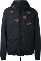 Duvetica Jimi Roos x Kiss embroidery KWAY jacket - men - Feather Down/Polyamide/Polyurethane - 46