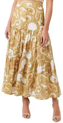 Forever New Lilly Tiered Maxi Skirt