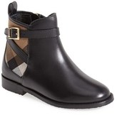 Burberry Toddler Girl's 'Mini Richardson' Leather Boot