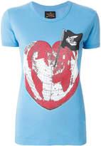 Vivienne Westwood Heart World print T-shirt