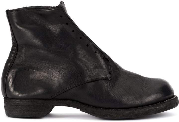 Guidi slip-on fitted boots