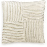 """Hotel Collection Waffle Weave 20"""" Square Decorative Pillow"""
