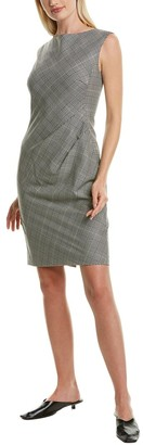 Lafayette 148 New York Della Wool-Blend Sheath Dress
