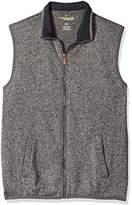 Haggar Men's Soft Brush Full Zip Vest