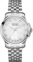 Bulova Women's Bellecombe Diamond Watch - 0.21 ctw