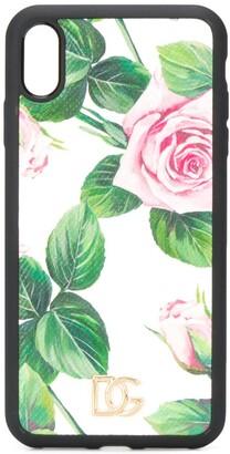 Dolce & Gabbana Roses print iPhone X case