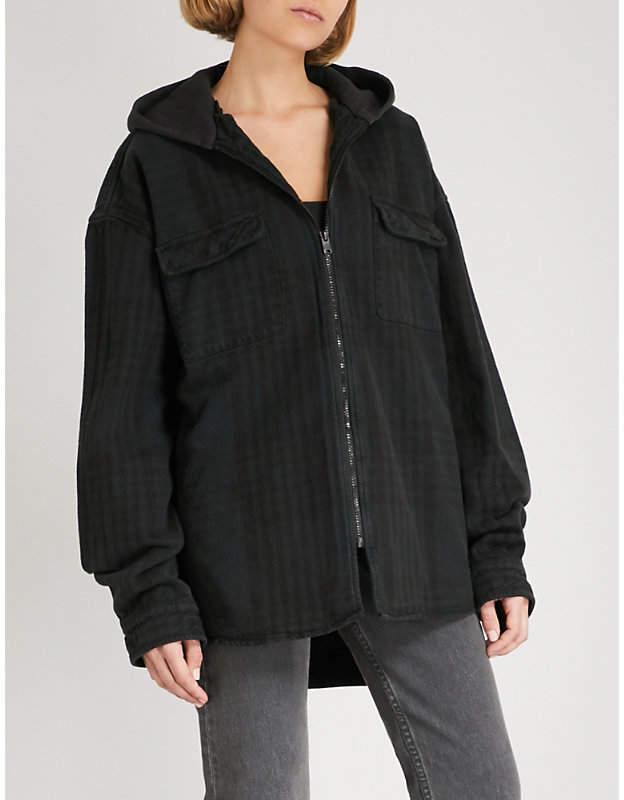 Yeezy Season 5 Calabasas cotton-flannel jacket
