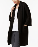 Eileen Fisher Woven Tencel Open-Front Jacket