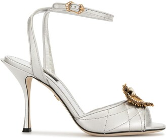 Dolce & Gabbana Devotion 90mm sandals