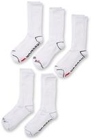 Reebok Ribbed Mid Calf Socks (5 Pack)