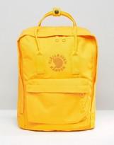 Fjallraven Re- Kanken 16l Backpack In Yellow
